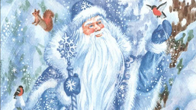 Во что одет Дед Мороз