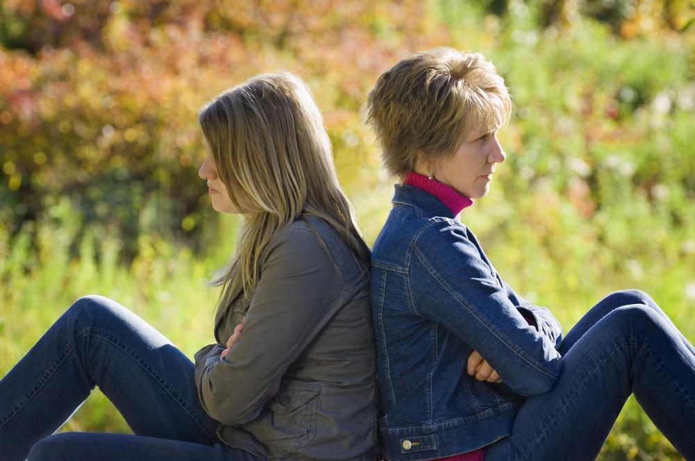 недопонимание дочери и матери