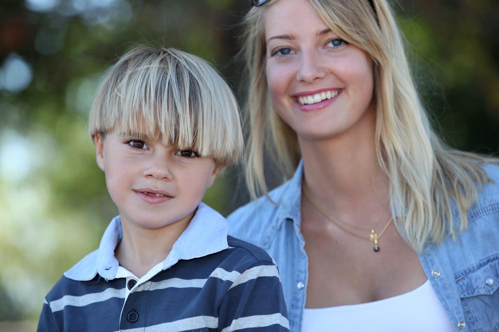 сестра с племянником
