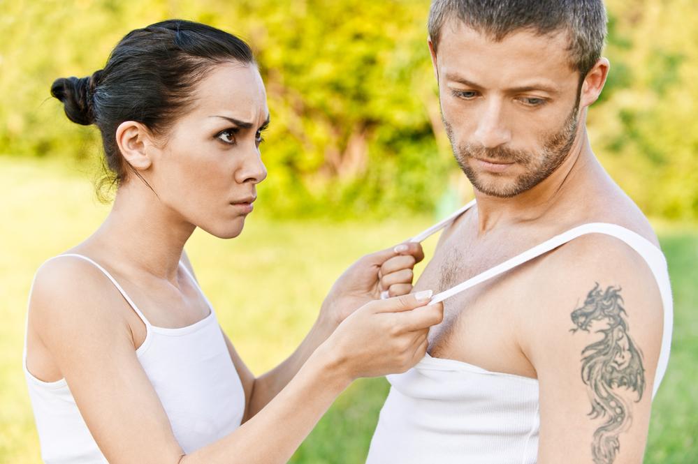 ссора между парнем и девушкой