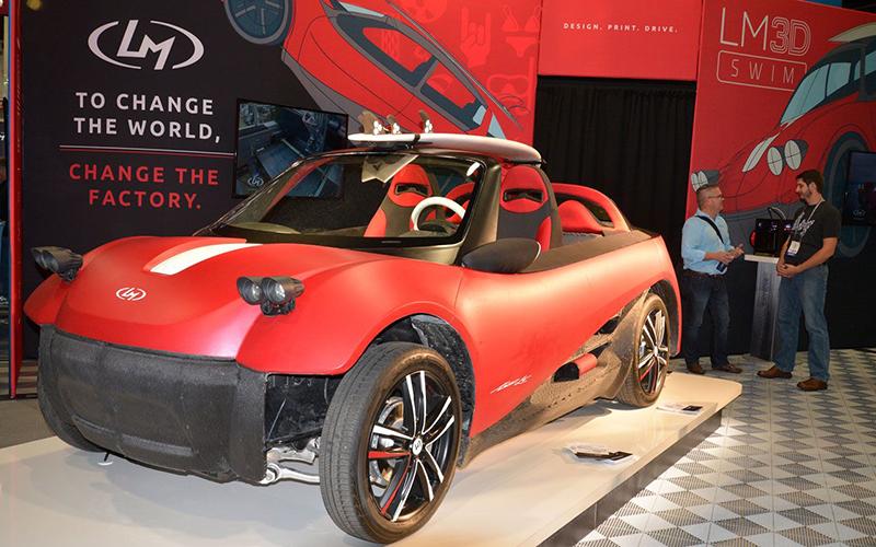LMSD Swim - автомобиль 3D