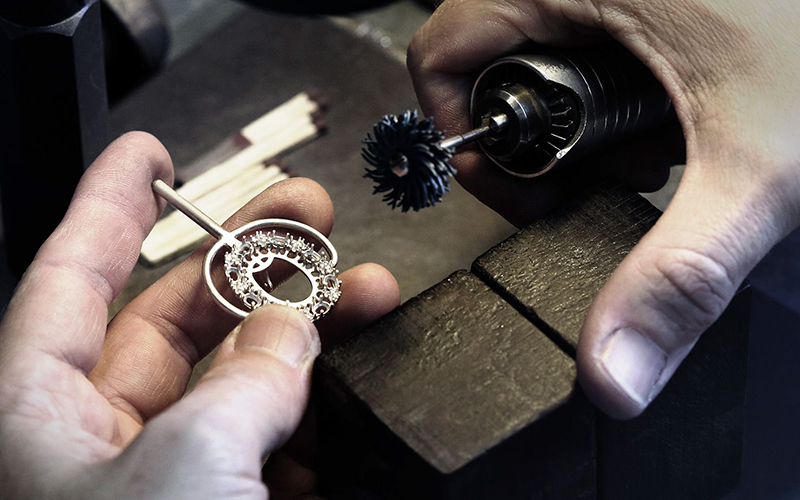 Технологии художественной обработки материалов - ювелир