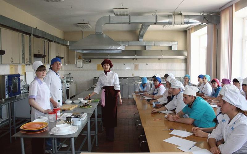 Технология общественного питания - обучение