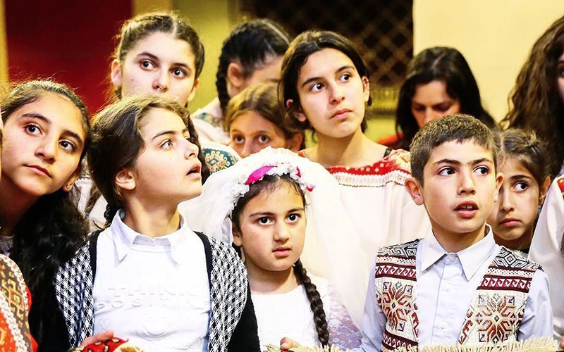 Дети в Армении