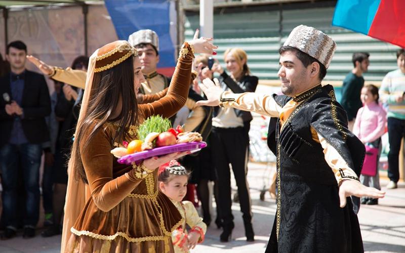 Праздник Новруз в Азербайджане