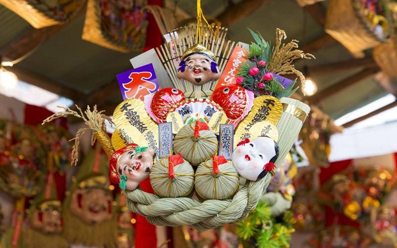 Кумаде -праздничные японские грабли