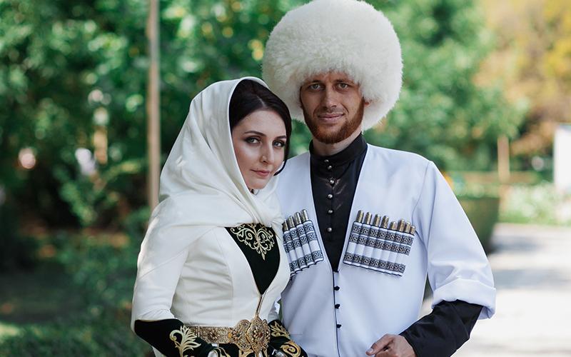 Традиции костюма дагестанцев на свадьбу