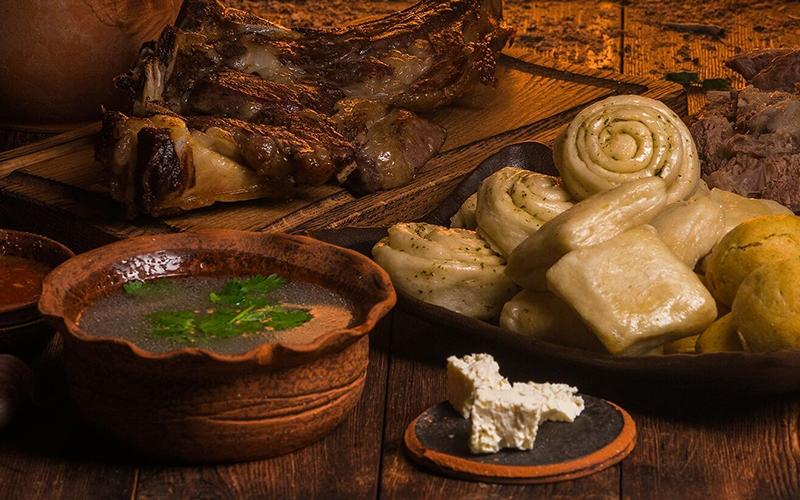 Традиционные блюда дагестанцев