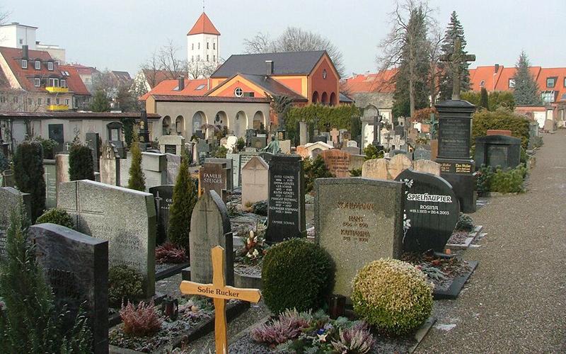 Кладбище в  Германии