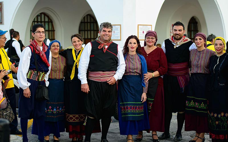 Традиции греков