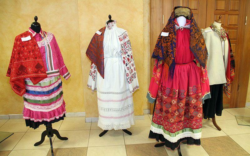 Национальный костюм Липецкой области