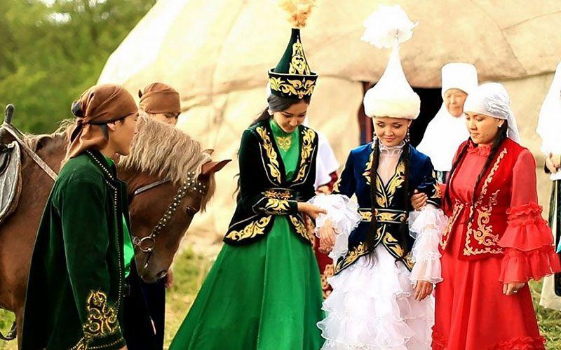Традиционная казахская свадьба