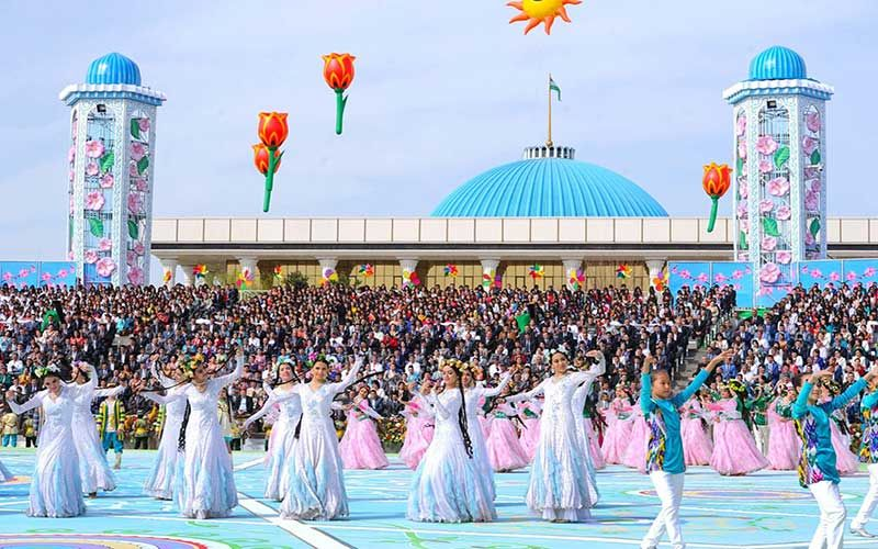 Празднование Навруз