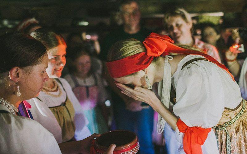 Вепсская свадьба