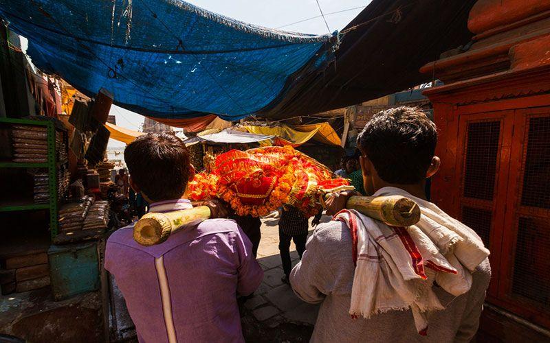 Похороны в Индии