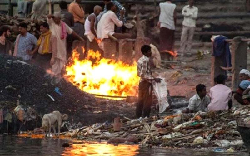 Погребение в индуизме