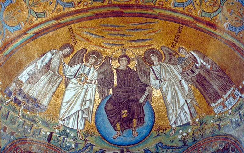 Мозаика в византийском храме