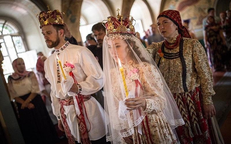 Венчание на Руси