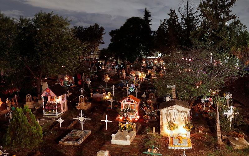 Кладбище в Мексике