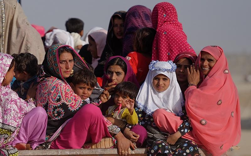 Жители Пакистана