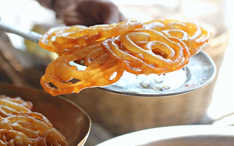 Джалеби — восточная сладость