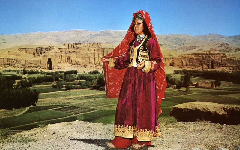 Афганский национальный женский костюм