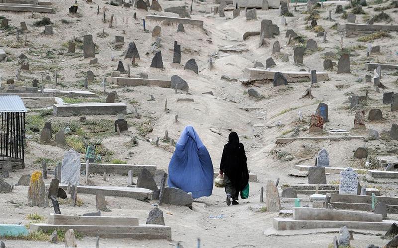 Афганское кладбище